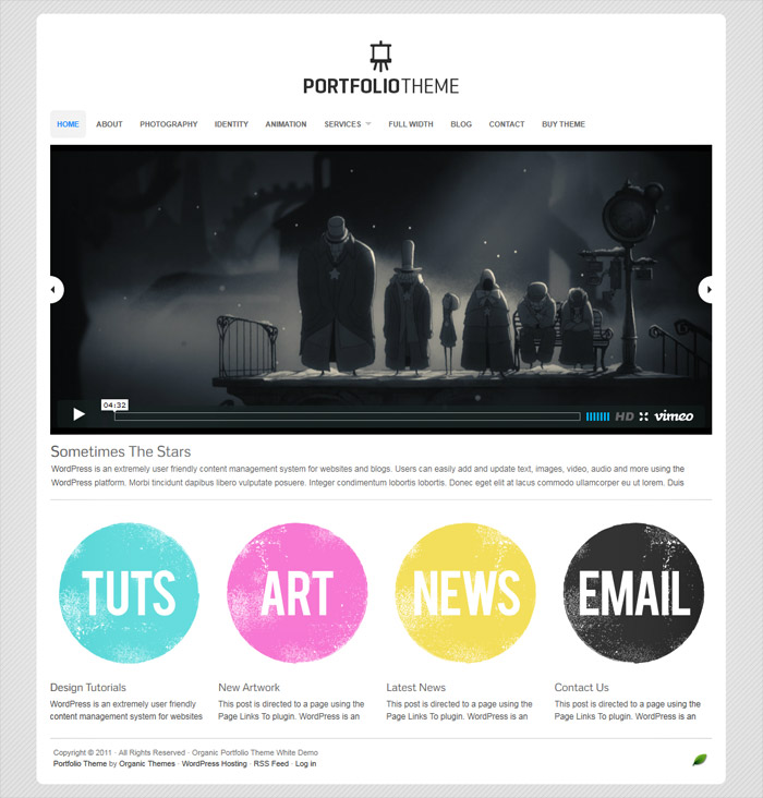 Portfolio Theme