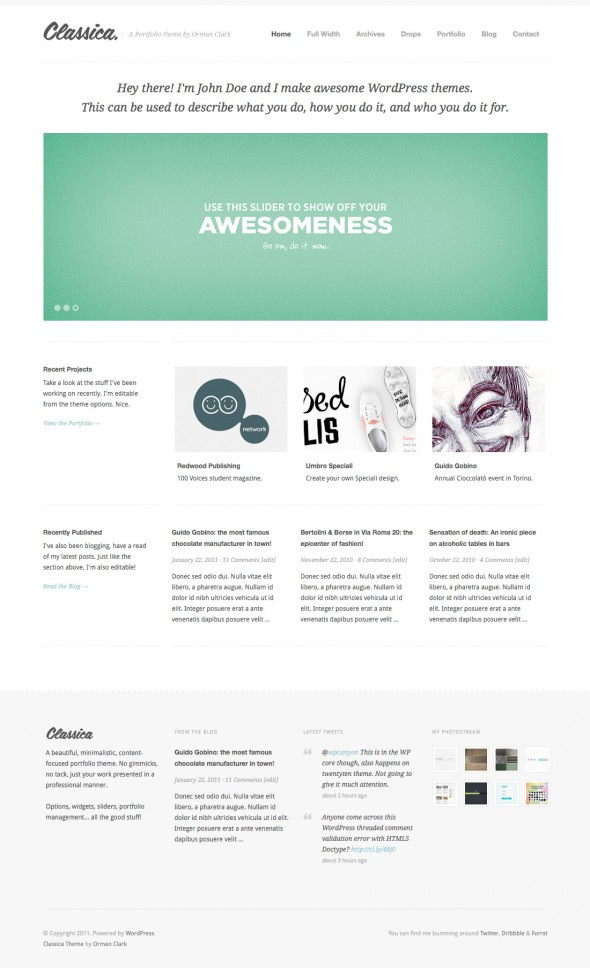 Classica by ThemeForest