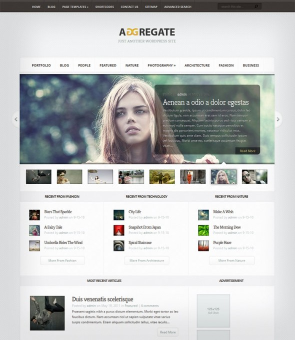 Aggregate by ThemeForest