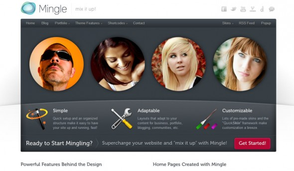 Mingle by ThemeForest