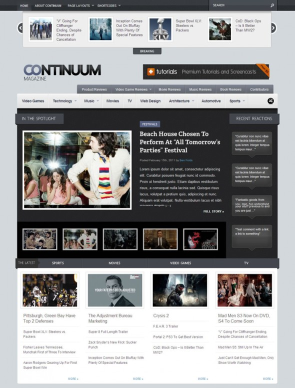 Continuum by ThemeForest