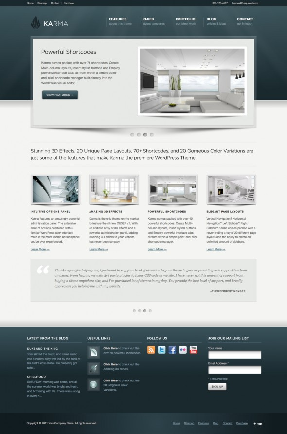 Karma by ThemeForest