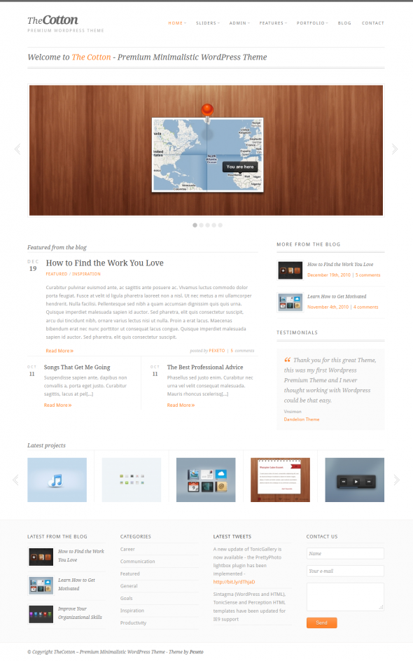 The Cotton by ThemeForest