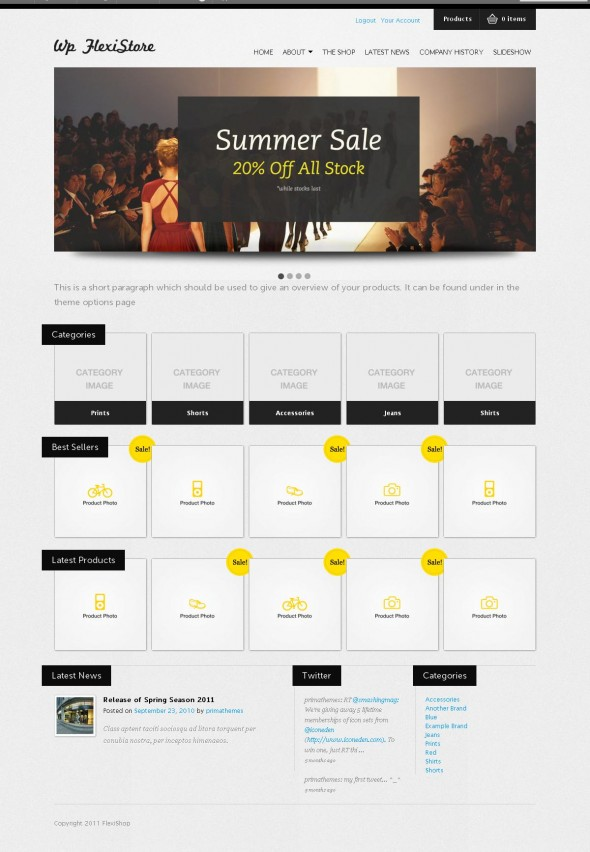 WP FlexiShop by ThemeForest