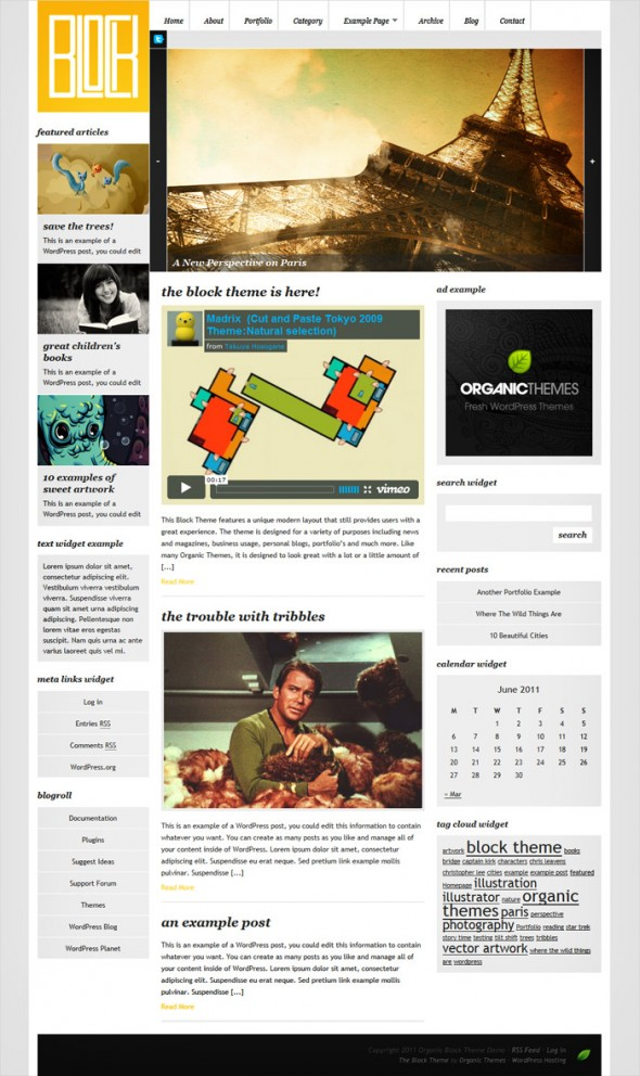 BlockTheme by Organic Themes