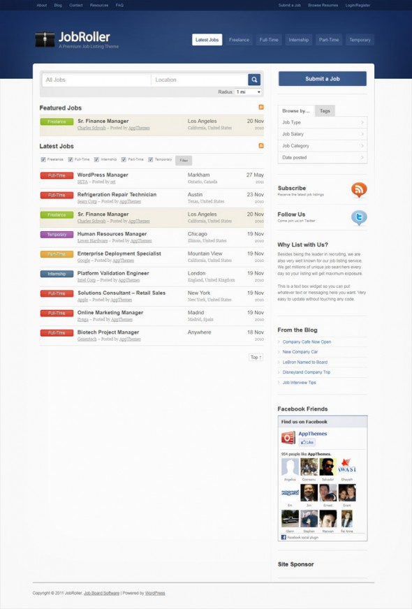JobRoller by AppThemes