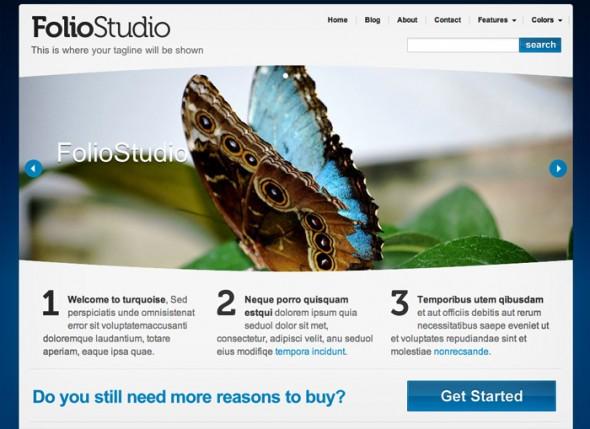 Folio-Studio by Mojo Themes
