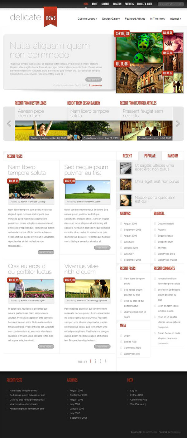 DelicateNews-Elegant Themes