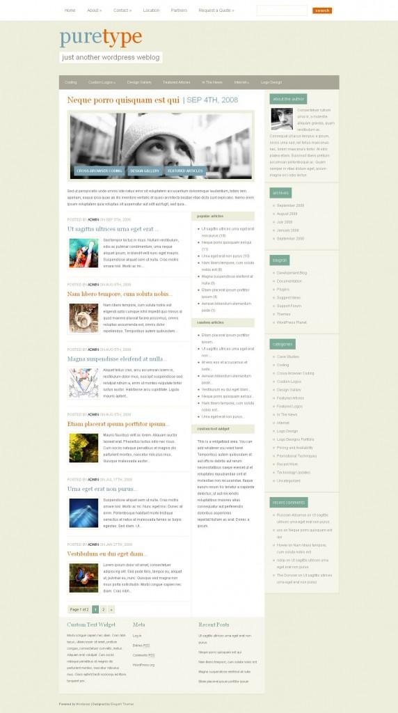 PureType-Elegant Themes