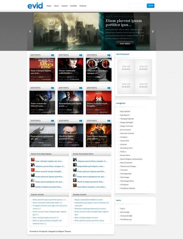 eVid-Elegant Themes