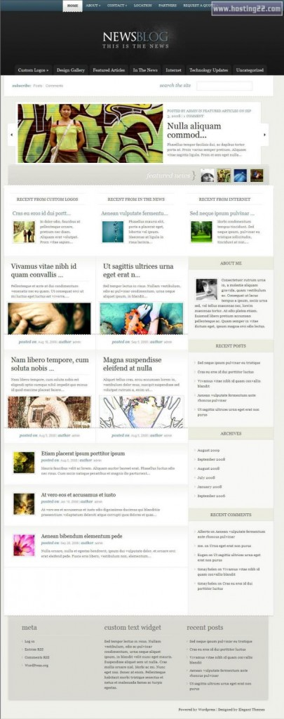 enews-Elegant Themes