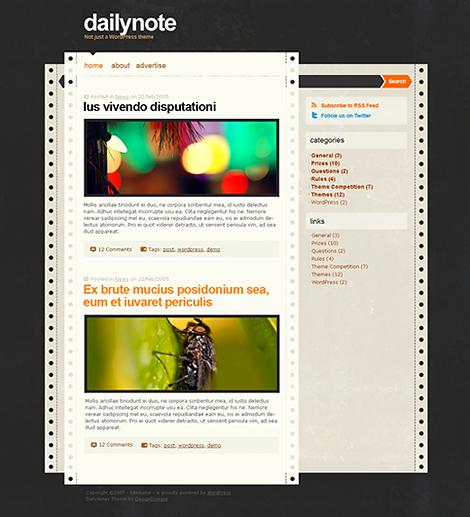 Dailynote-Premium Themes