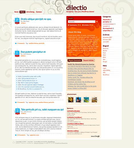 Dilectio-Premium Themes