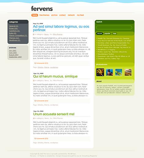 Fervens-Premium Themes